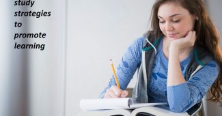 Different study strategies to promote learning
