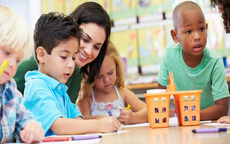 children study regularly